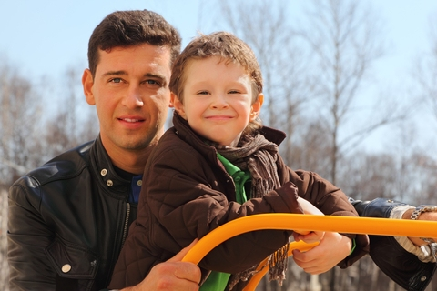 Fathers and sons: Bonding takes time!